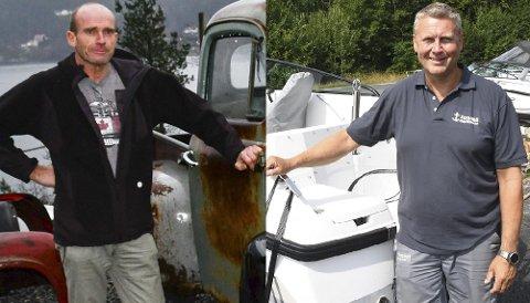 Gudbrand Dynna i GT Automative og Rolf Arne Olsen i Stranna Maritime ønsker å flytte til Grenstøl. I første omgang er det snakk om en opsjonsavtale, ettersom regionale regler for handelsvirksomhet kan være til hinder.