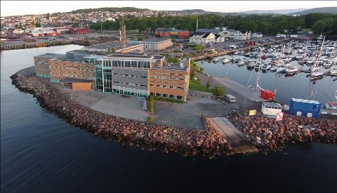STORT ANSVAR: Horten sjøtrafikksentral har de siste årene hatt ansvar for sjøtrafikken i hele Oslofjorden.