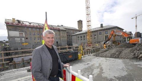 Nytt rådhus: Eks-ordføreren Ole H. Hjartøy i Bodø.