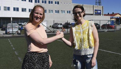 Vil ha flere: Hilde Ånneland og Anne Tjønndal i Bodø Idrettsråd.Foto: Kristoffer W. Pettersen