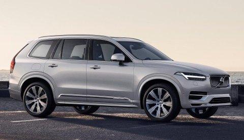 NY BIL: Neste generasjon av den store SUV-en XC90 er blant bilene som skal bygges på Volvos kommende SPA 2-plattform.