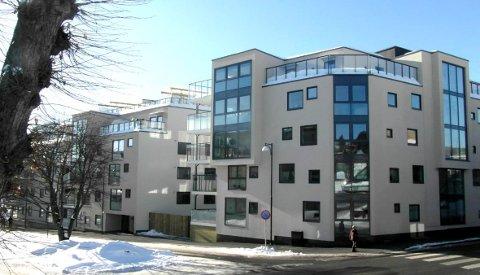 Boligkvartalet Losjeplassen Vest er nominert til årets Byggeskikkpris.