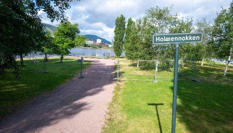 STENGT: Deler av Holmennokken er stengt, og det blir stengt lenge.