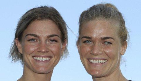 MØTES: Jeanett Kristiansen og Vipers har reist til Ungarn for å møte storesøster Veronica «Vikki» Kristiansen som spiller på Györ – verdens beste klubblag.
