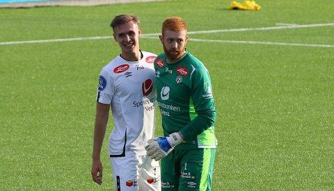 MOLDE: Sivert Mannsverk (19) er i ferd med å bli klar for Molde. Dermed blei 2–1 sigeren over Raufoss hans siste kamp i Sogndal-drakt.
