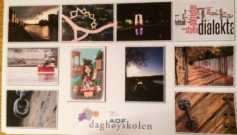 Postkort: Du kan kjøpe unike postkort hos Daghøyskolen 7. og 8. desember