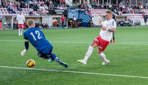 Ny tillit: Tim Nilsen scoret to mål sist og er FFKs toppscorer med ti mål denne sesongen.
