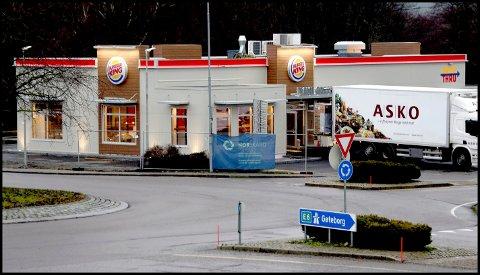 FIKK BESØK: De ansatte hos Burger King på Solli fikk uanmeldt besøk av Mattilsynet tirsdag denne uka.
