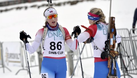 VM-KLAR: Vingrom-løperen Synne Owren er klar for ungdoms-VM i Slovakia, og brukte KM som trening for å komme i toppform til mesterskapet. Alle foto: Kjell H. Vollan