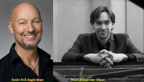 Svein Erik Sagbråten og Stian Alexander Olsen.