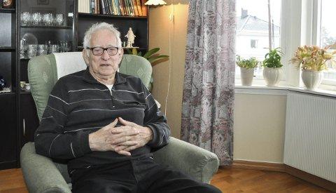 Ble bra: Borge Kristoffersen satt i det første kommunestyret i den nye storkommunen i 1967.