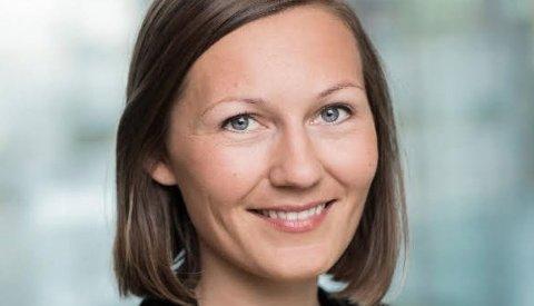 NY JOBB: Ingeborg Marie Østby Laukvik kommer fra en jobb i NHO og er nå ansatt som daglig leder av Halden Næringsutviking.