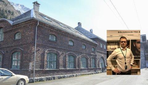 DNB til Næringshagen: DNB sitt nye rådgivningskontor i Odda blir å finne på Smelteverkstomta, nærmere bestemt i Næringshagen. Foto: Ernst Olsen