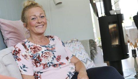 Positiv: Reidun Løland Sekse er positiv og gjer det beste ut av situasjonen. Foto: Synnøve Nyheim