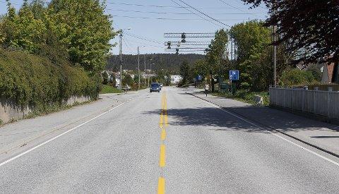 Skeisvollsveien: NAF arbeider for tryggere trafikk for alle, skriver Jon Ekrene. Foto: Harald Nordbakken