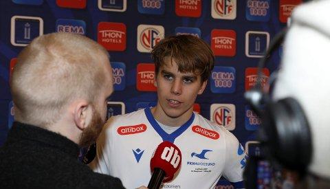 SKUFFET: Martin Samuelsen var langt nede etter at FKH tapte cupfinalen mot Viking.