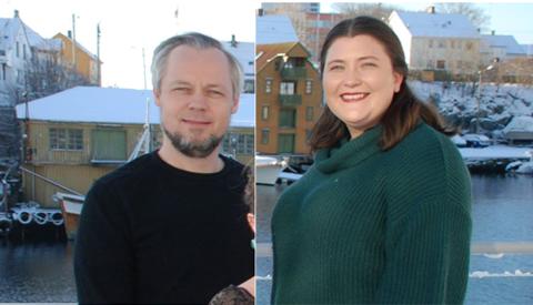Bjørn Gunnar Husby og Monica Tindeland