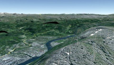 Mattias Törnkvist har tidligere bekreftet at det skal stå 15 turbiner på kammen fra Øyfjellvarden og nordover.