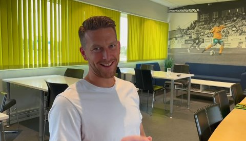 LURT: Ull/Kisa-midtstopper Steffen Jenssen angrer på at han ikke leste nøye igjennom kontrakten før han forlenget avtalen med Jessheim-klubben.