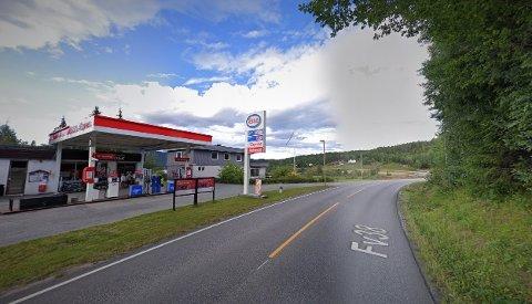 UTFORKJØRING: Hendelsen skal ha skjedd ved Bostrak bensinstasjon.