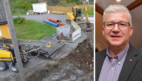 VIL BEHOLDE: Jone Blikra er klar på at han og resten av opposisjonen ønsker å bevare anleggsteamet slik det er i dag.