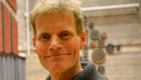 LOKAL SØKER: Erling Halling fra Kongsberg vil bli direktør for Buskerudmuseet. Mange kjenner