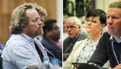 Deler utvalg og fylkesting: Men ikke mening. Morgan Langfeldt (Frp) reagerer på at Venstres Tove Hofstad sa imot et vedtak i fylket hun var med på i utvalget for miljø og plan.