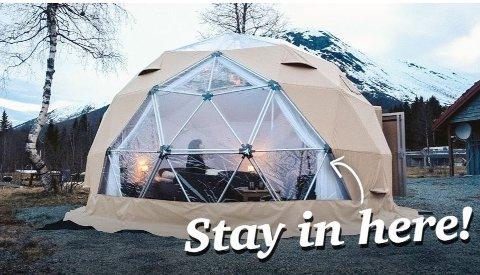 Håvard Johansen ønsker å drive en campingplass hvor ikke minst ryggsekkturister kan kjenne seg velkomne. Illustrasjonsfoto Håvard Johansen/Selfjord utleiepark/via Flakstad kommune