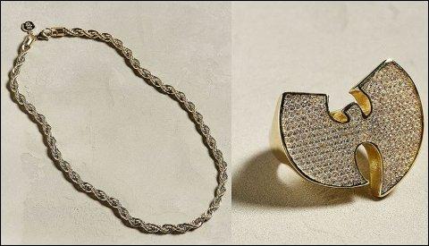 KING ICE-SMYKKER: Det er dette halskjedet og denne ringen fra King Ice som Highsnobiety mener man bør skaffe seg.
