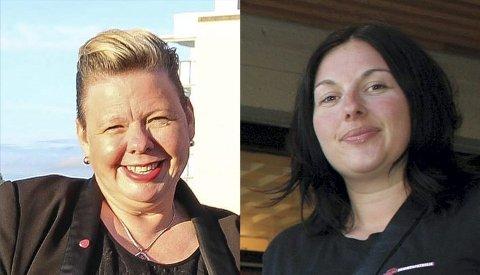 Siv Henriette Jacobsen og Siri Martinsen , Østfold Arbeiderparti