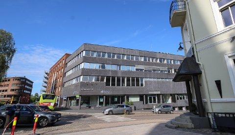 BYGGER LEILIGHETER: 18 utleieboliger skal bygges inn i Dronningens gate 23 i Moss.