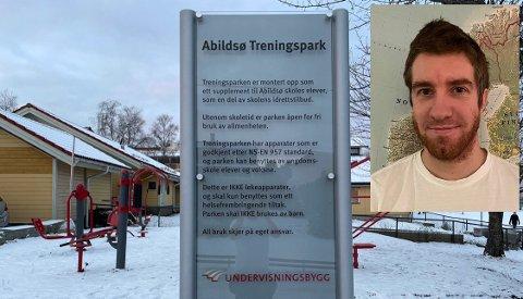 Nå kan Svein Joar Horve legge ned sprittusjen - Undervisningsbygg har sagt ja til å bytte ut skiltet.