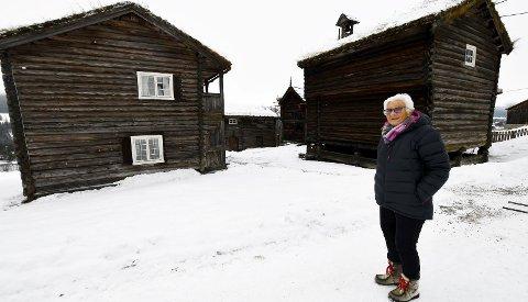 Vil frigjøre ressurser: Liv Mari Harilstad vil dele fra en skogteig fra Søre Harilstad for å frigjøre ressurser til drift av bygningsmassen på garden.