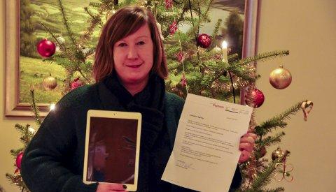 Ingeborg Engelien Andresen, vinner av kalenderkonkurranse 2016