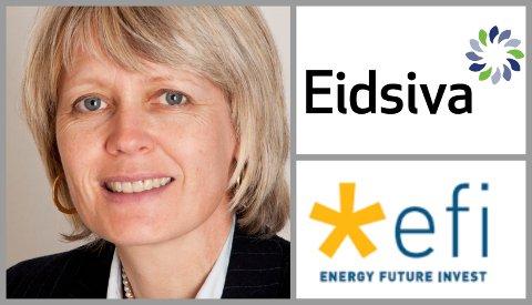 AVVIKLER: Daglig leder Elisabeth Krokeide i Eidsiva Vekst sier planen er å avvikle datterselskapet Energy Future Invest som hadde et negativt driftsresultat på 76 millioner kroner i 2018.