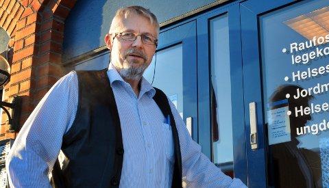 SPENT: Jens A. Mørch er spent på hvordan smitten utvikler seg i skolen etter nye retningslinjer.