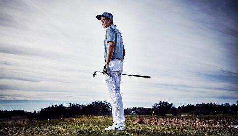Framgang: Andreas Halvorsen klarte cut'en i en PGA-turnering på den latinske touren.