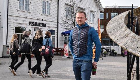 NYE FESTDAGER: Christian A. Eckbo og handelsstanden drar i gang Elverumsdagene 2020.