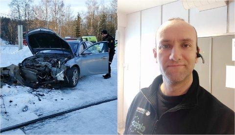 FLAKS: Det kunne ha gått langt verre for Svein Erik Ristebråten.