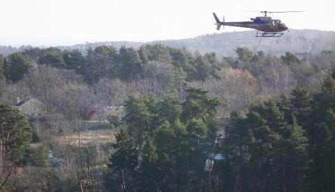 Det finnes lover og regler for helikoptertransport, men grenser for støy er ikke enkelt å finne ut av.
