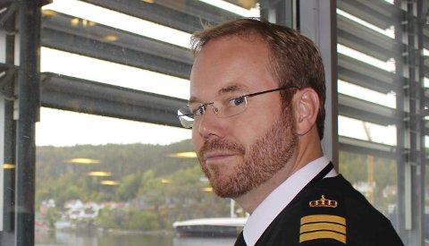 KJEMPET: Torgeir Torkjelsson var tillitsvalgt for trafikklederne ved Brevik Sjøtrafikksentral.