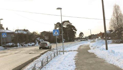 FYLL: Kvinnen fyllekjørte på Bambleveien.