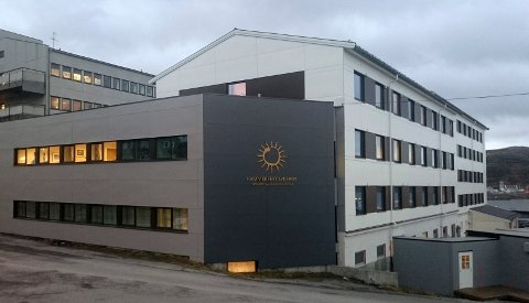 Hammerfest 20151103.  Arkivbilde av Hammerfest sykehus, der beredskapsnivået heves til rødt nivå, etter at to ansatte testet positivt for korona. OBS fotokredit Foto: Finnmarkssykehuset / NTB