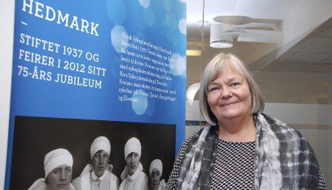 RIKTIG: Bente I. Aaland, fylkesleder i Norsk Sykepleierforbund Hedmark, sier det er riktig med strenge reiseregler for ansatte i helsesektoren.