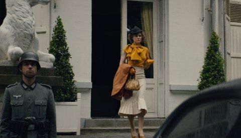SPIONEN: Den nye norske fi,men Spionen har Ingrid Bolsø Berdal i hovedrollen som Sonja Wigert - spionen som av mange ble regnet som krigsforbryter fordi hun flørtet med  den tyske rikskommisaren i Norge, Josef Terboven.