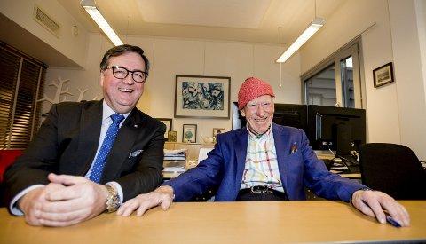 Mentor: Morten Thorvaldsen beskriver Olav Thon som sin mentor. Foto: Tom Gustavsen