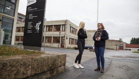 FELLES FORSTÅELSE: Elevrådsrepresentant og medlem i ungdommens fylkesting Hedda Thue Øksne og rektor Laila Handelsby ved Røyken videregående skole mener Ungdata-undersøkelsen gir et riktig bilde av ungdomshverdag.