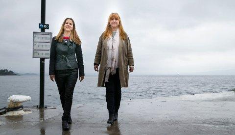 TOPP TI: Solveig Schytz er innstilt som nummer to og Elisabeth Holter-Schøyen som nummer åtte på lista til Viken Venstre ved neste valg..