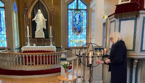 ÅPENT: Kirkene i Asker holder åpne kirker som planlagt uavhengig av strengere anbefalinger.
