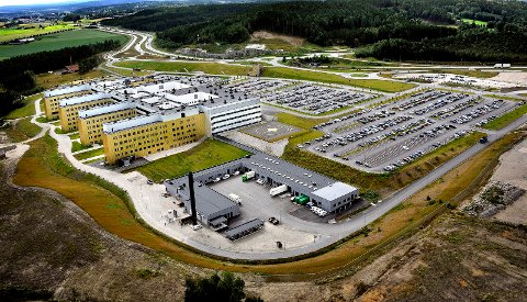 Flyfoto sykehuset Østfold kalnes